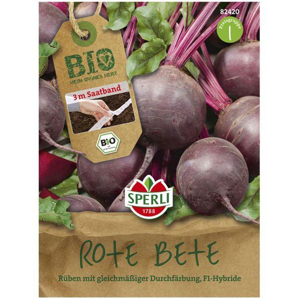 Bio Rote Bete Boro F1 (Saatband)