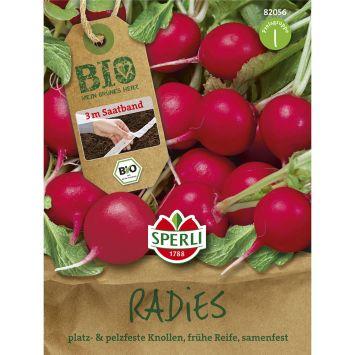 BIO Radieschen Rudolf - Saatband