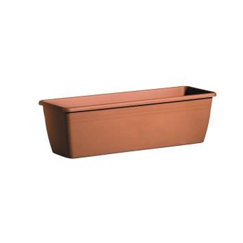 Blumenkasten Cassetta Day R, 80cm, Terracotta
