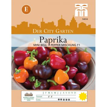 Paprika Mini Bell Improved Mischung
